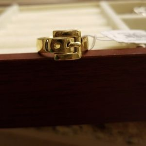 Micheal Kors buckle ring
